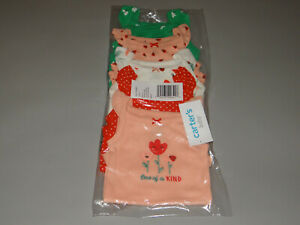 NWT, Baby girl clothes, 6 months, Carter's 5 Bodysuits/ ~~~SEE DETAILS ON SIZE~