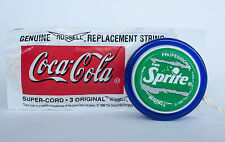 1999 SPRITE Professional Yo-Yo Toy RUSSELL Coca-Cola string pack GREAT CONDITION