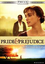 Pride and Prejudice (DVD, 2006, Widescreen) Keira Knightley ~ ROMANCE!  Love!