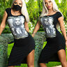 MEXTON By Alina Damenkleid Sexy Partykleid Minikleid Clubkleid 34 - 38 #D292