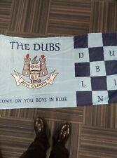 More details for new ireland dubs boys in blue  5ft x 3ft dublin football flag new