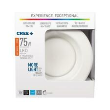 "10 6"" 75 Watt Equivalent 2700K Soft White Integrated Led Recessed Downlight Trim"