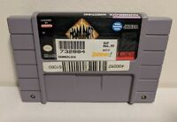 Hammerlock Wrestling - Super Nintendo SNES - Game Cart Rare