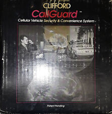 Clifford CallGuard Cellular Vehicle Security & Convenience System Car Alarm NEW!