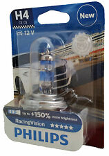 H4 Philips racing Vision +150% x-treme 1er einzelblister 12342rvb1