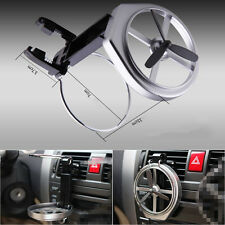 Car Truck SUV Wind Air A/C Outlet Folding Cup Bottle Drink Holder Stand with Fan
