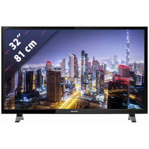 """Sharp LC-32HG3142E 32"""" HD ready LED smart TV with freeview & USB 2.0"""