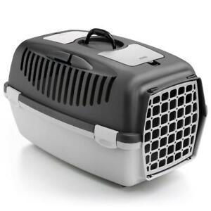 Portable Pet Carrier Cat Puppy Travel Cage Dog Carry Basket Transporter Box skud