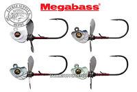 Megabass Okashira Screw Jig Swimbait Head 1/16oz 3/0 3pk - Pick