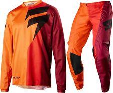2018 Shift Whit3 Label Tarmac Motocross Kit Combo in Orange - Size 36/XL BNWT