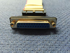 """25-Pin Parallel to 26-Pin IDC Header 11"""" Cable"""