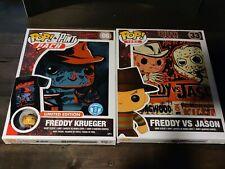 Funko Pop! Tees Freddy Vs Jason Medium Freddy Krueger Pop & Pint Small