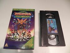 Digimon - The Movie - Special Digi-Fan Movie Pack - Small VHS Box
