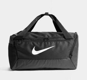 Nike Gym Bag Brasilia Duffel Bag Training Gym Sport Travel Bag Black 40L Bag