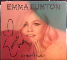 EMMA BUNTON * MY HAPPY PLACE * SIGNED 10 TRK CD * SPICE GIRLS * ROBBIE WILLIAMS