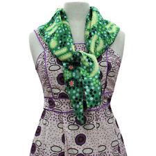 Warrina Designs Water Dr. 100% Silk Womens Scarf Australian Aboriginal Art