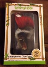 RainForest Cafe iPhone 5S Case w Sreen Guard pic of Baboon/Monkey