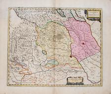 c1640 Italien Italia Piemont Piemonte Vercelli Kupferstich-Landkarte Blaeu