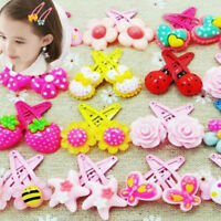 20pcs/Sets Mixed Cartoon Baby Kids Girls HairPin Hair Clips Jewelry beautify