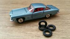 Corgi Toys 241 Ghia L6.4 With Chrysler V8 Engine Tyres Set Of 4 Brand New !!
