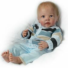 Asthon Drake- Interactive Baby Boy Doll by Linda Murray - Noah'S Happy As Can Be