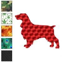 Field Spaniel Dog Decal Sticker Choose Pattern + Size #1952