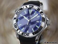 Omega Seamaster Titanium Electric Blue 41mm 2231.80.00 Swiss Auto Watch Ap102