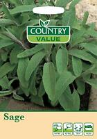 Sage Seeds Herb Garden Fresh herbs Grow Your Own Country Value Fothergill's