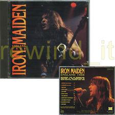 """IRON MAIDEN """"ENGLAND 1988"""" RARE CD ITALY 1992"""