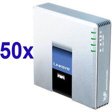 50 x Linksys Pap2T + 30 € di traffico Voce + Account SIP + Pannello di Controllo