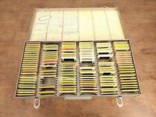 Vtg Metal Storage Case - Over 200 Film Photo 35mm Slides 50 & 60s Family Pics
