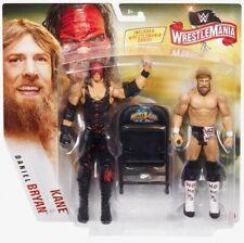 WWE Mattel Kane / Daniel Bryan Wrestlemania 36 Battle Pack Figures