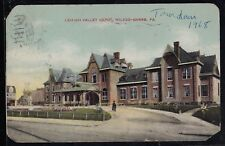 Vintage Antique Postcard Lehigh Valley Depot, Wilkes-Barre PA