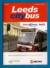 Pocket Size Timetable ~ West Yorkshire Metro - Leeds City Bus - First WY: 2012