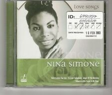 (HK750) Nina Simone, Love Songs - 2004 CD