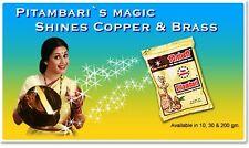 Brass Copper Instant Cleaner/Polish Anti-Tarnish Pitambari Rar effective formula