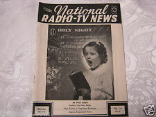 National Radio News 1951 tube vintage electronics magazine mobile two way radio