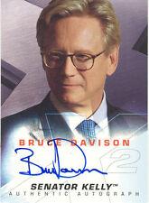 "X-Men 2, United - Bruce Davison as ""Senator Kelly"" Auto/Autograph"