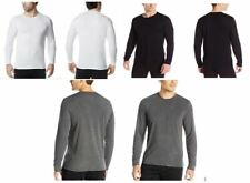 NEW Men's 32 Degrees Heat 2 Pack Long Sleeve Shirts Crewneck Anti Odor Stretch