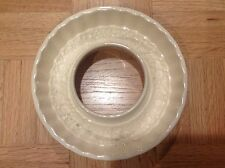 Vintage Ceramic Food Mold - Made in Germany GMT Co - Round 8.5""