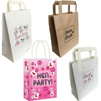 HEN PARTY BAGS TEAM BRIDE TO BE FAVOURS GOODIES NIGHT DO GIRLS PINK ROSE GOLD