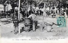 CPA 20 CORSE BASTIA MARCHAND DE MARRONS PLACE DE L´HOTEL DE VILLE (VIEUX METIERS