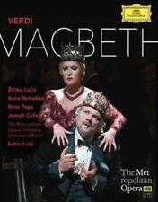 Macbeth Metropolitan Opera Luisi Blu-ray 2015 Adrian Noble
