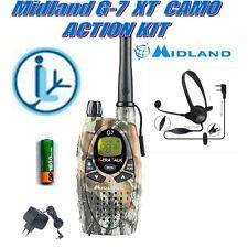 MIDLAND G7 PRO MIMETIC ACTION KIT RTX PMR/LPD Ec/AUR+MIC.cuffia 49089+333024