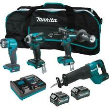 Makita Gt401m1d1 40v Max Xgt Brushless Cordless Lithium Ion 4 Tool Combo Kit