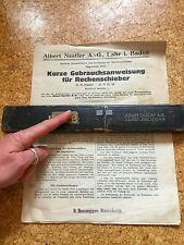 "Rastrelli SARACINESCA Albert Nestler D.R. brevetto ""Rietz"" no 23r/3 D.R. G.M. - M. anleitg"