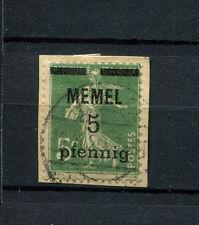 Memel - Nr. 18b Briefstück   (D609)