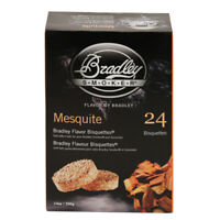 Mesquite Bisquettes 24 Pack for Bradley Smokers Model BTMQ24