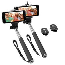 Doppelpack NINETEC Picturesmart Selfie Stick + Bluetooth Auslöser