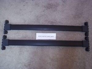 2003-2008 Pontiac Vibe Pair of Roof Rack Cross Bars OEM Factory Luggage